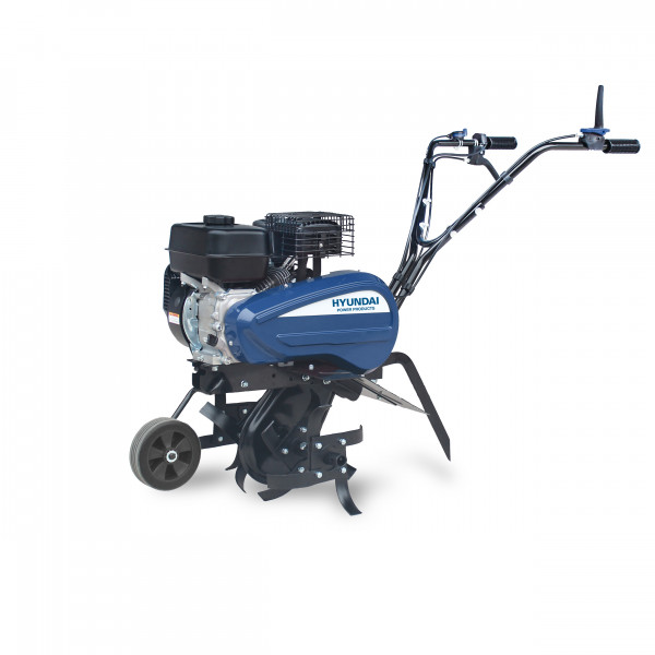 Petrol powered Tiller 196cc W168FB EURO5 engine output power 6.5HP Belt+chain drive Cutting Width 54cm Cutting depth 10-26cm Including wheel & handles